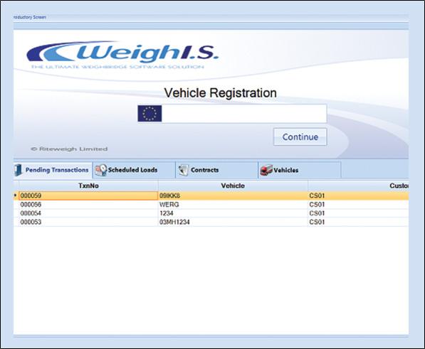 Weighbridge Truck Scale Software Industrial Weighing
